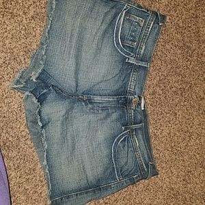 Size 14 Mid rise Old Navy jean cutoff shorts